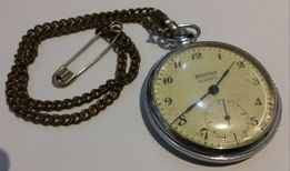 Часы карманные Molnija USSR 18 jewels экспортный вариант