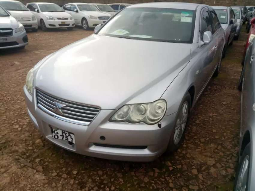 Mark X 2005 model in good shape with UBF number plate 0