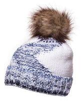 Очень теплая зимняя женская шапка