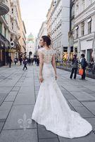 Luksusowa suknia ślubna projektu Katherine Joyce Paris