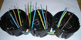Перемычки соединители для соединения проходных розеток шлейфом ПВС