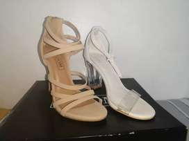GREAT DEAL! SELLING BOTH HIGH HEELS