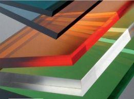 монолітний, сотовий , профільний полікарбонат - прозора покрівля