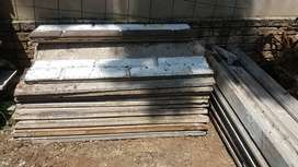 Used precast walls on sale (Slabs and Poles available)