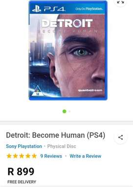 Detroit become a humen Ps4