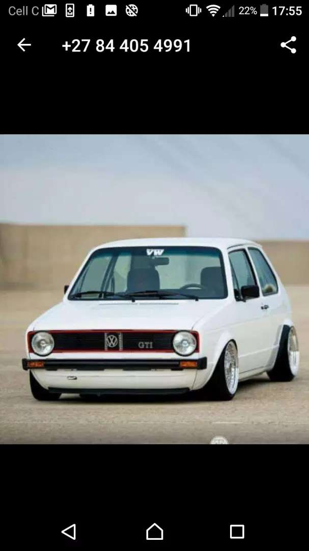 Vw golf 1 engine and 5speed gearbox for sale 0