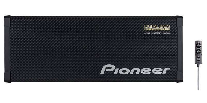 Pioneer TS-WX70DA Compact Powered Subwoofer 0