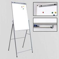 Магнитная доска для рисования маркером на подставке 65х100 см
