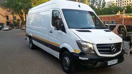 Mercedes sprinter van , very good condition with only 155 kilometer
