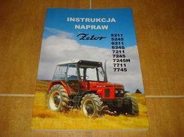 Instrukcja Napraw Zetor 5211 , 6211 , 6245 , 7211 , 7245 , 7711 , 7745