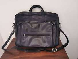 Busby Genuine Leather Laptop bag.