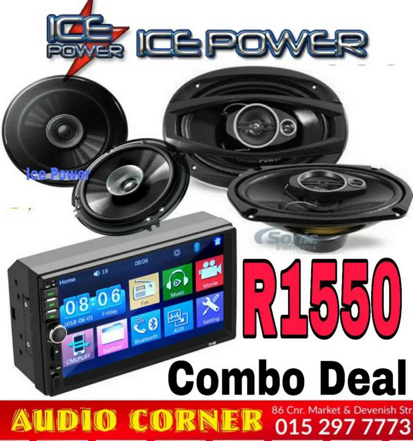 Ice Power Radio Speaker Combo