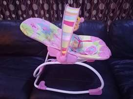 PINK BABY ROCKING CHAIR FOR SALE!!