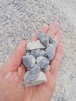 Grys niebiesko-szary lazurowa Marianna 8-16 mm kamień z dostawą+głaz