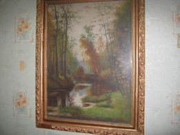 продам картину И.Шишкина 1888 репродукция