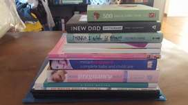 Pregnancy, baby and toddler books