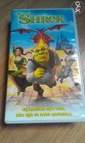 """Bajka """"SHREK"""". Rozszerzone zakończenie! VHS - PAL"""