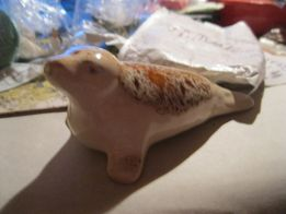 фигурка тюлень морж котик морской статуэтка ЕВРОПА сувенир фарфор кот