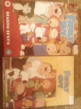 family guy dvd collection