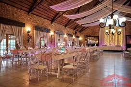 We hire out weddings,baby showers,co operate events equipment.
