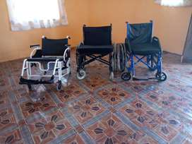 Wheelchair and commode October 2019