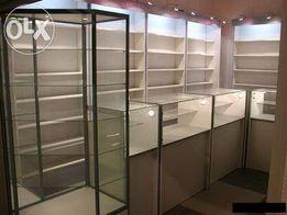Витрины,прилавки,стеллажи,мебель для магазинов,аптек,быстро,недорого.