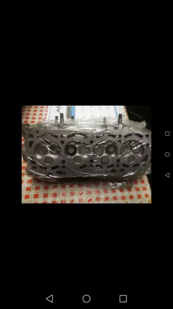 Toyota Tazz 1.3 reconditioned cylinder head 2E 0