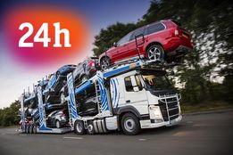 TRANSPORT AUT Z NIEMIEC Auta Samochodów Laweta 24H Lohra Pomoc Drogowa