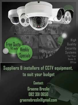 Cctv supplier and installs