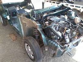 Golf engine and gearbox, 1400