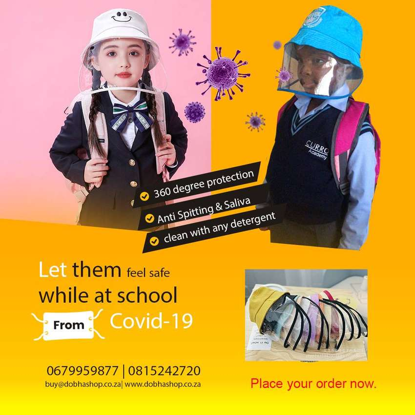 Kids and adults Anti-spit Protective Hats. 0