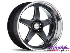 18 inch JDM KDM style Lenso D1SF-Low 5 114 N and