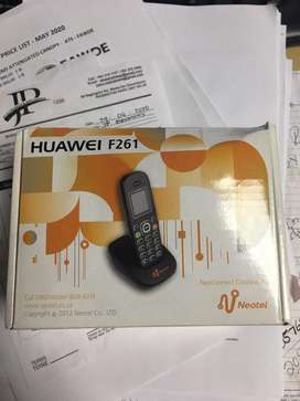 2 x Huawei cell phones, as good as new price each