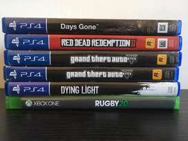 Ps4/Xboxone Games for sale