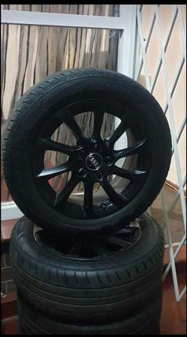 Audi Rims with Tyres