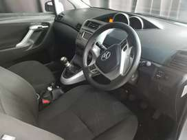 TOYOTA VERSO 1.6 ENGINE CAPACITY