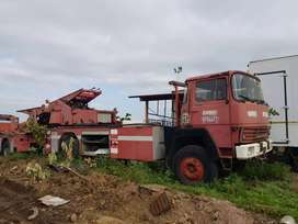2× Magirus Deutz Iveco fire engines (low mileage)