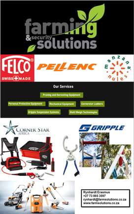 Farming Solutions. Agricultural & Forestry Equipment.