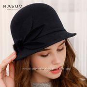 Стильная фетровая шляпка
