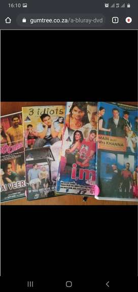 DVD's - 200 x Bollywood