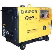 Дизельный генератор KIPOR KDE7000TD. Дизельные и бензиновые генераторы