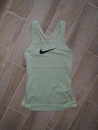 Miętowa koszulka treningowa Nike XS fitness siłownia