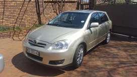 2007   Toyota   Runx   1.4sport with leather interior