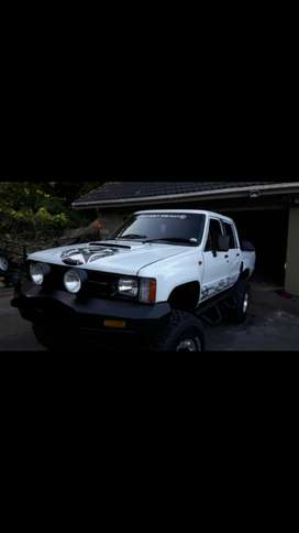 Toyota dbl cab with lexus v8  for sale or swap