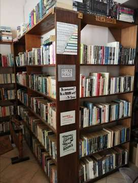 Books, Bookshelves and till