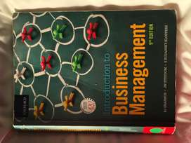 Introduction to Business Management 9th Edition