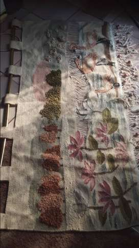 Vintage Wool (hand made)wall carpet