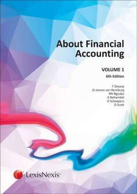 About Financial Accounting Volume 1. (6th edition)