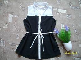 Стильная блузка для девочки - подростка или женская. Размер XS, S