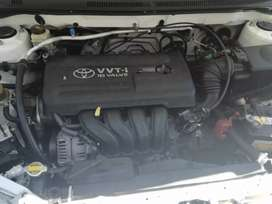 Toyota RunX white been used for 5 months